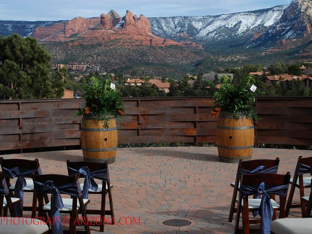 Ceremony View- January in Sedona