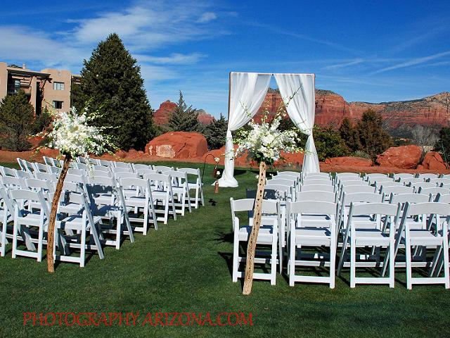 Red Rock Ceremony View