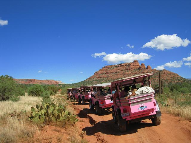 Our Friends at Pink Jeep Tours