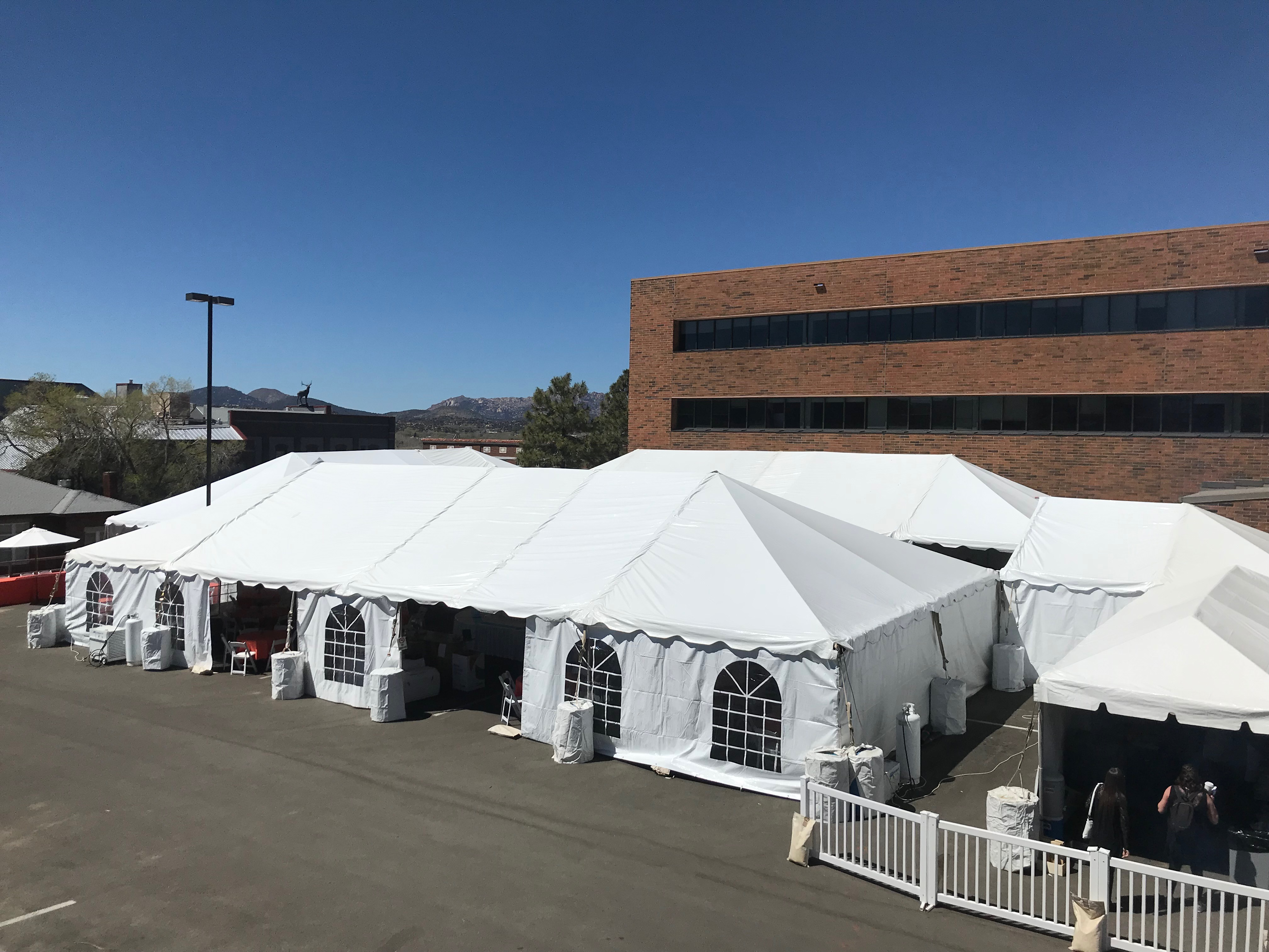 Dancing for the Stars - Tents