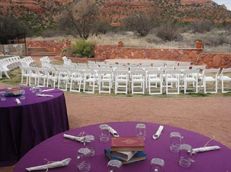 Red Agave - Reception Tables