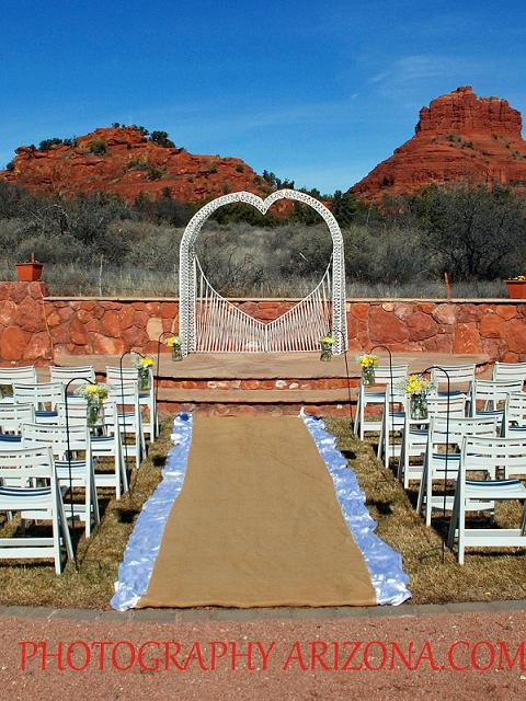Red Agave Resort - Heart Arch, Slatted