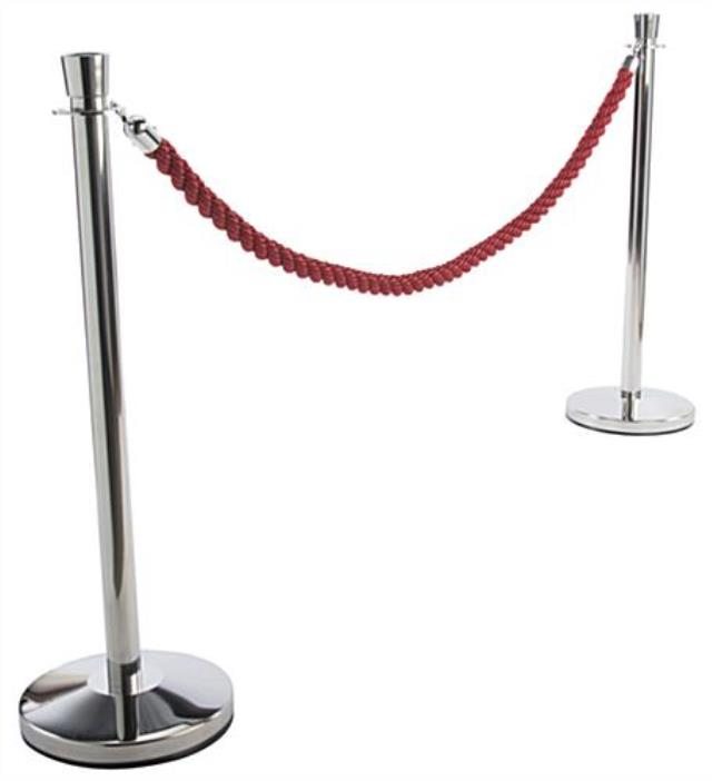 Where to find STANCHION CHROME, w 8  Red Rope in Sedona