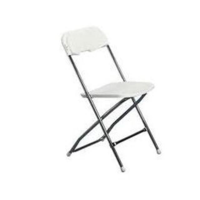 Where to rent CHAIR, FOLDING WHITE in Cottonwood AZ