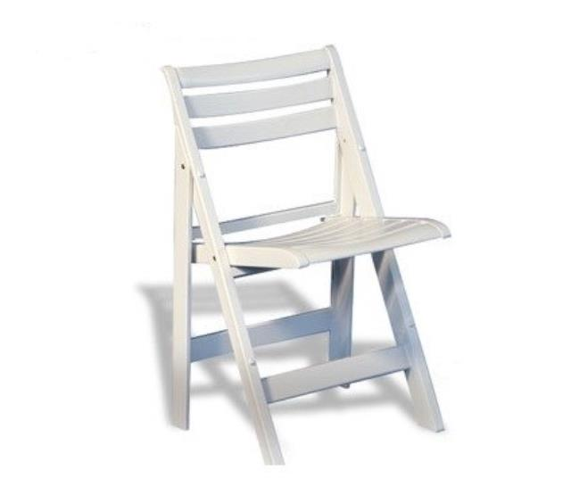 Where to find CHAIR, SLATTED WHITE in Sedona