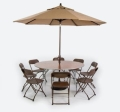 Rental store for UMBRELLA TABLES in Cottonwood AZ