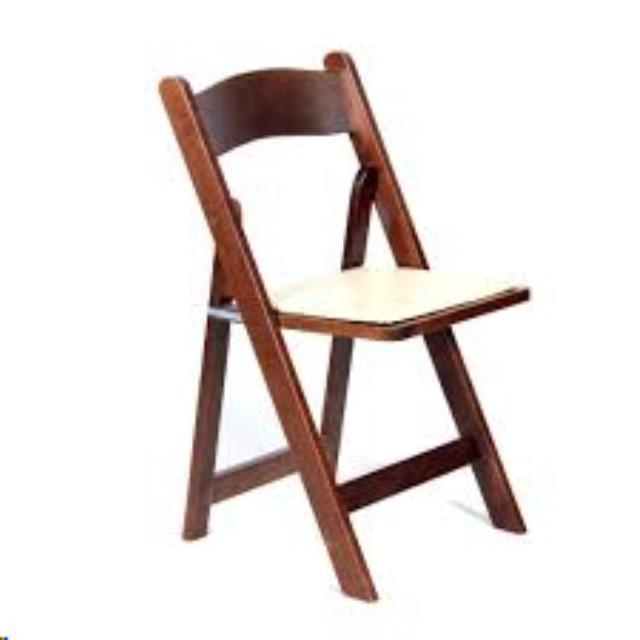 Where to rent CHAIR, DARK WOOD PADDED in Cottonwood AZ