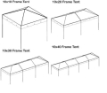 Rental store for 10  WIDE EXPANDABLE LENGTH CANOPIES in Sedona AZ