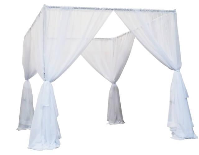 Where to rent WEDDING CANOPY   CHUPPA WHITE in Cottonwood AZ
