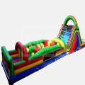 Rental store for OBSTACLE COURSE, DUAL LANE w  SLIDE in Cottonwood AZ