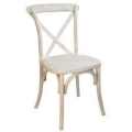 Rental store for CHAIR, CROSSBACK WHITEWASHED in Cottonwood AZ