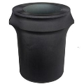 Rental store for TRASHCAN COVER, SPANDEX - BLACK in Cottonwood AZ