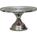 Rental store for CAKE STAND, S S ROUND PEDESTAL in Cottonwood AZ