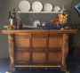 Rental store for BAR, ANTIQUE OAK WITH BRASS TOP in Cottonwood AZ