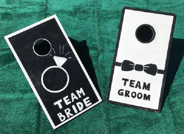 Where to find GAME, CORNHOLE WEDDING in Sedona