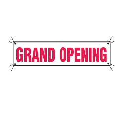 Where to find GRAND OPENING BANNER 3x10 in Sedona