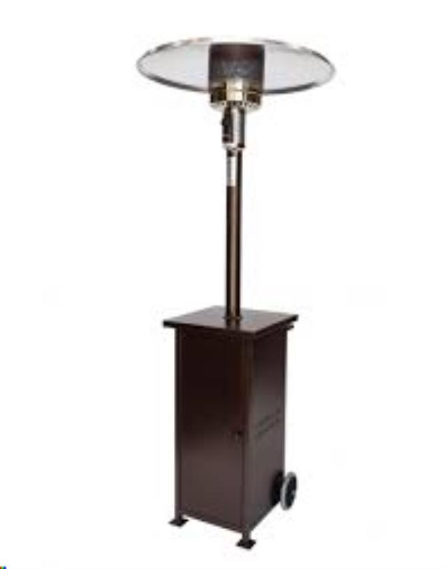 Where to find UMBRELLA HEATER, RHINO BRONZE in Sedona