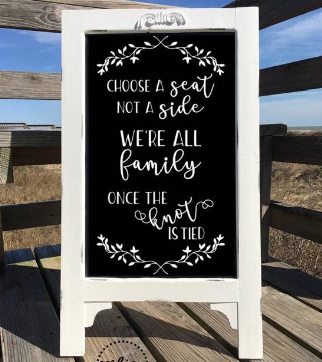 Where to rent CHALKBOARD SIGN - SEAT NOT SIDE in Cottonwood AZ