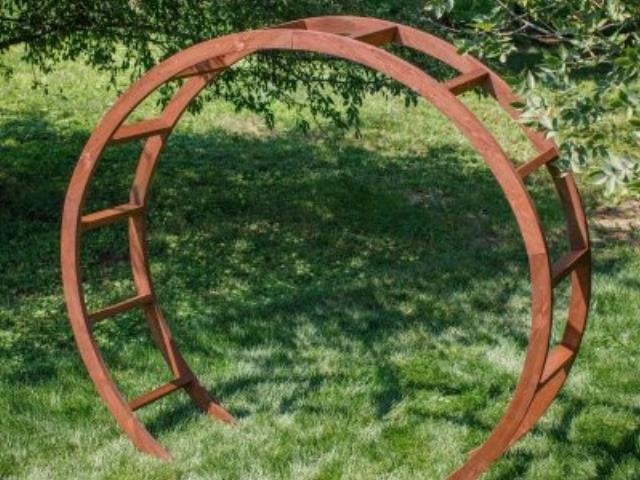 Where to find ROUND WOOD ARCH in Sedona
