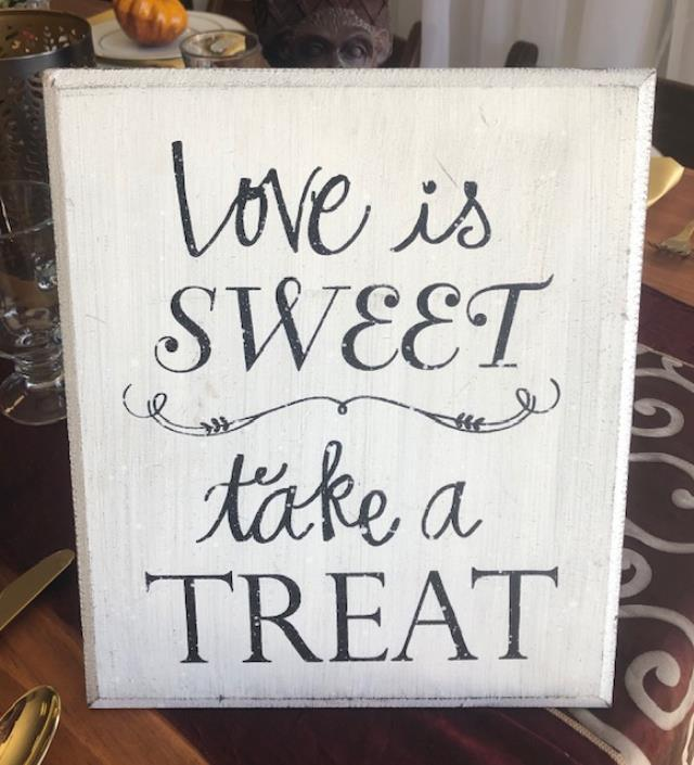 Where to find LOVE IS SWEET SIGN - in Sedona